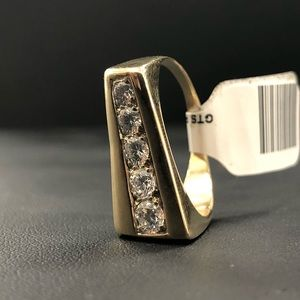 Other - 14Karat gold & diamond ring Gents